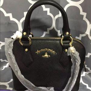 Vivienne Westwood Anglomania Black Handbag